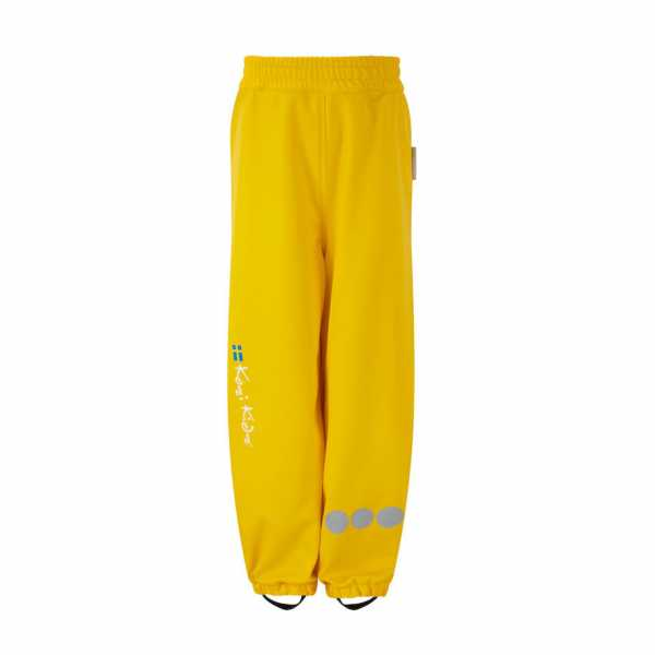 PU Essential Rain Over Trousers Unlined in Fisherman Yellow