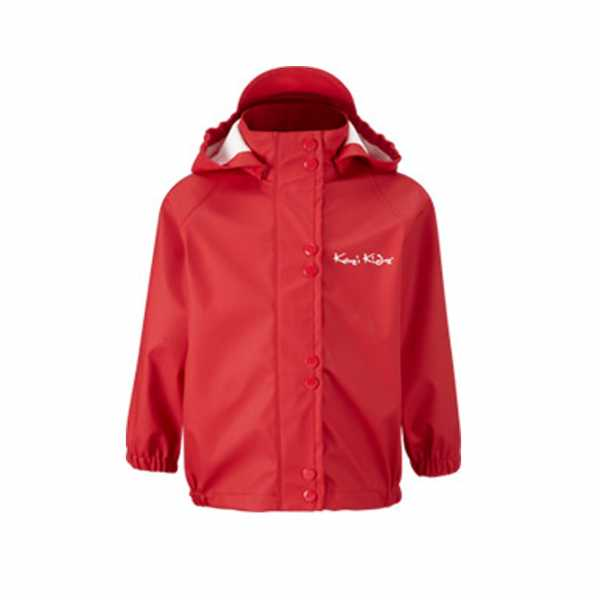 PU Essentials Unlined Jacket in Red