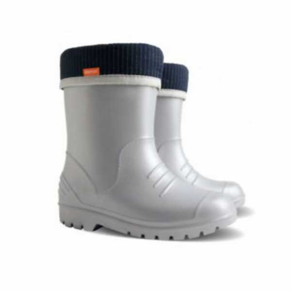 Ultra Light Wellington Boots in Silver