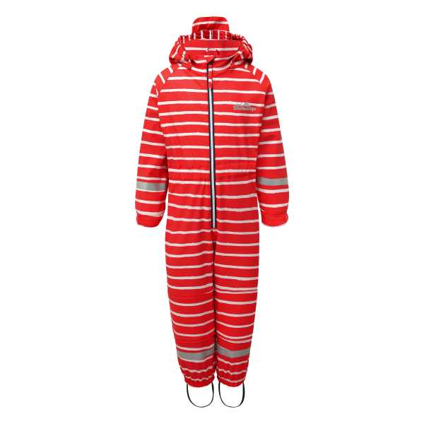 Outdoors Unlined All in One in Racing Red Stripe