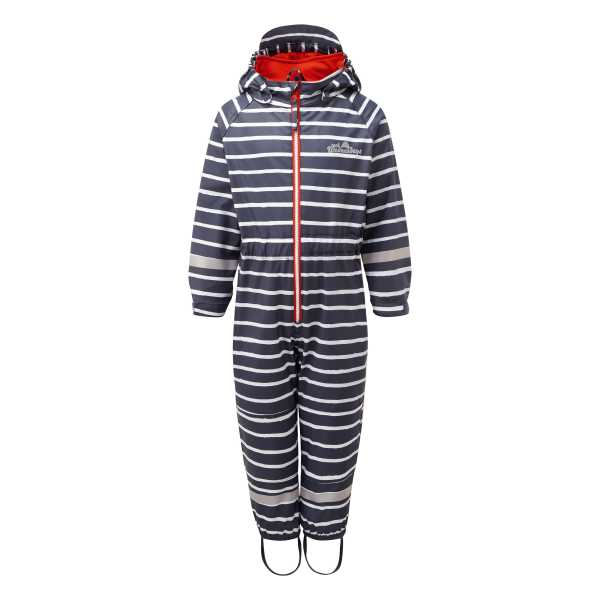 Outdoors Fleece Lined All in One in Sailor Blue Stripe