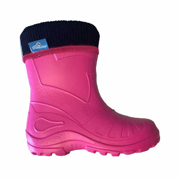 Bubble Boots in Pink