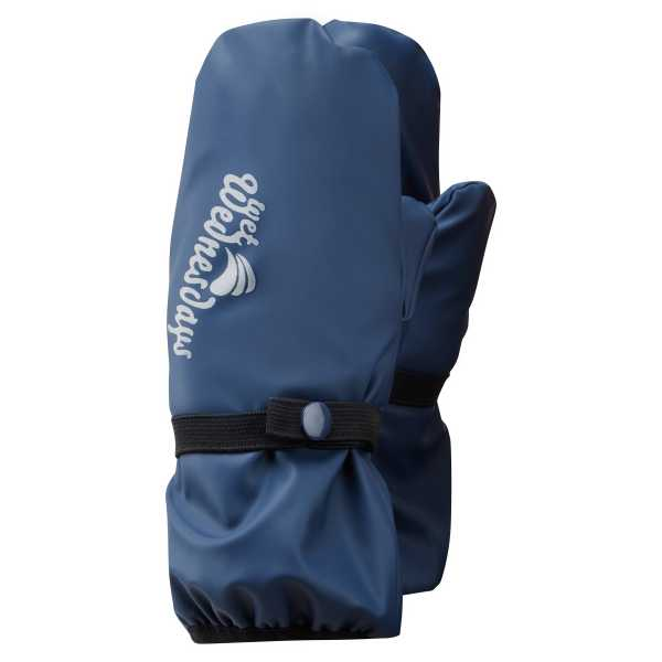 Outdoors Fleece Lined Mittens in Sailor Blue