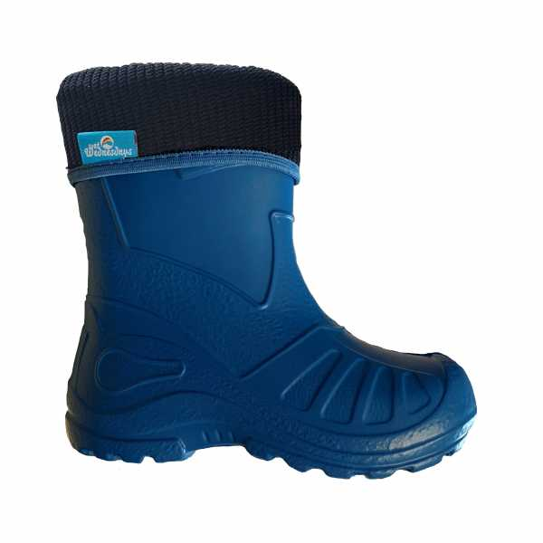 Bubble Boots in Blue